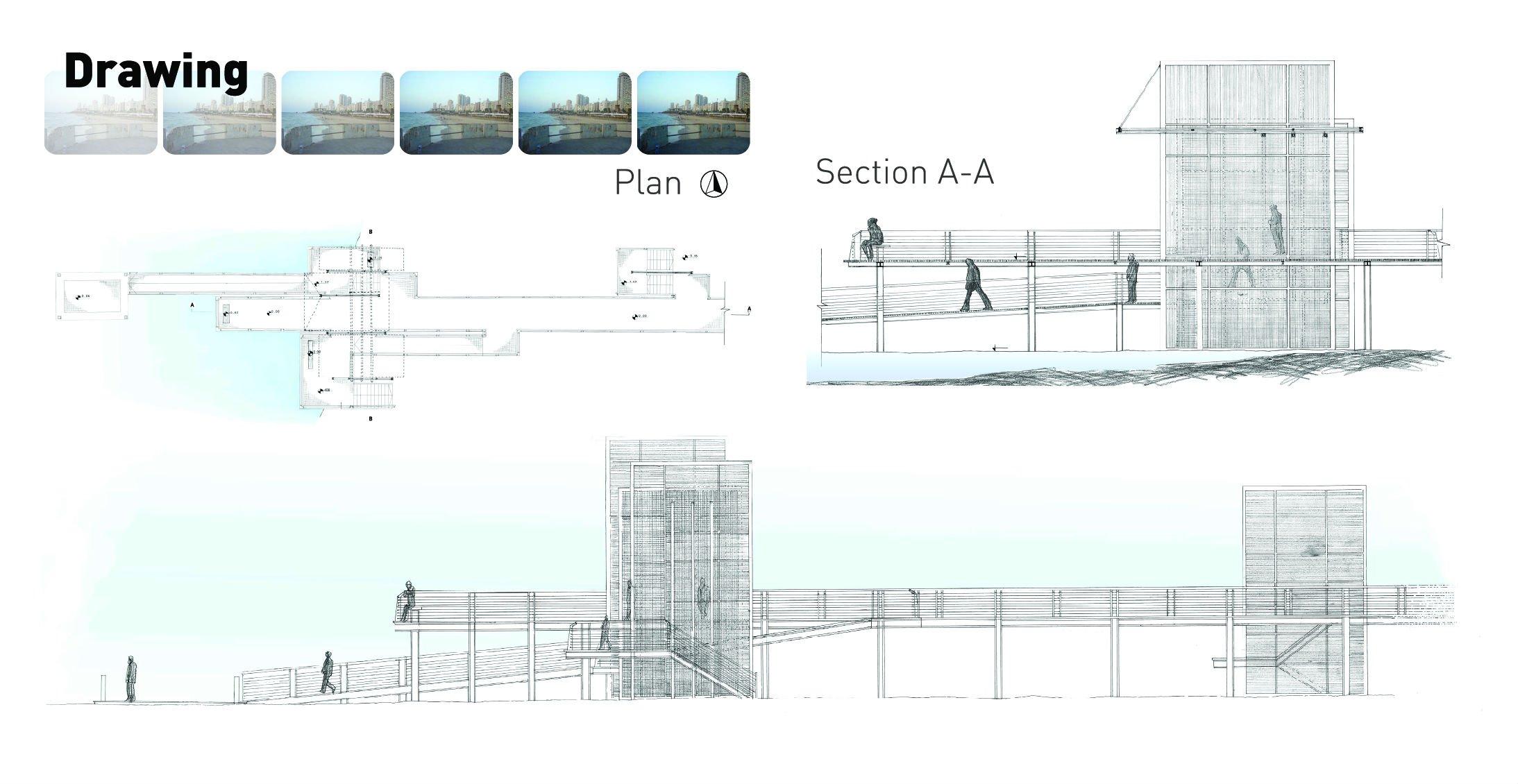 תכנון מזח בבת-ים