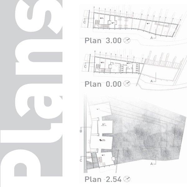 תוכנית אדריכלית בית יד לבנים