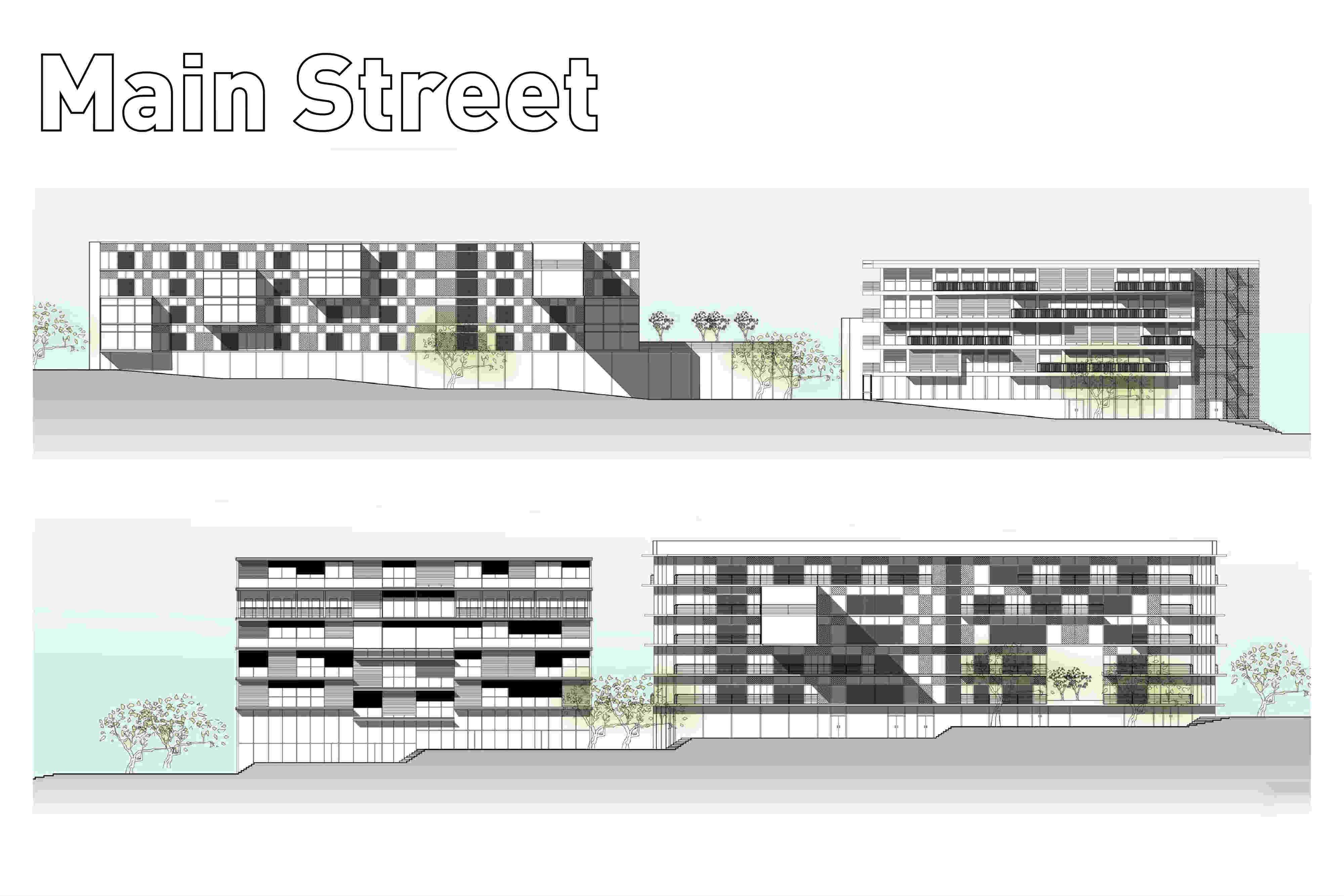 תכנון מעונות סטודנטים, אוניברסיטת תל-אביב