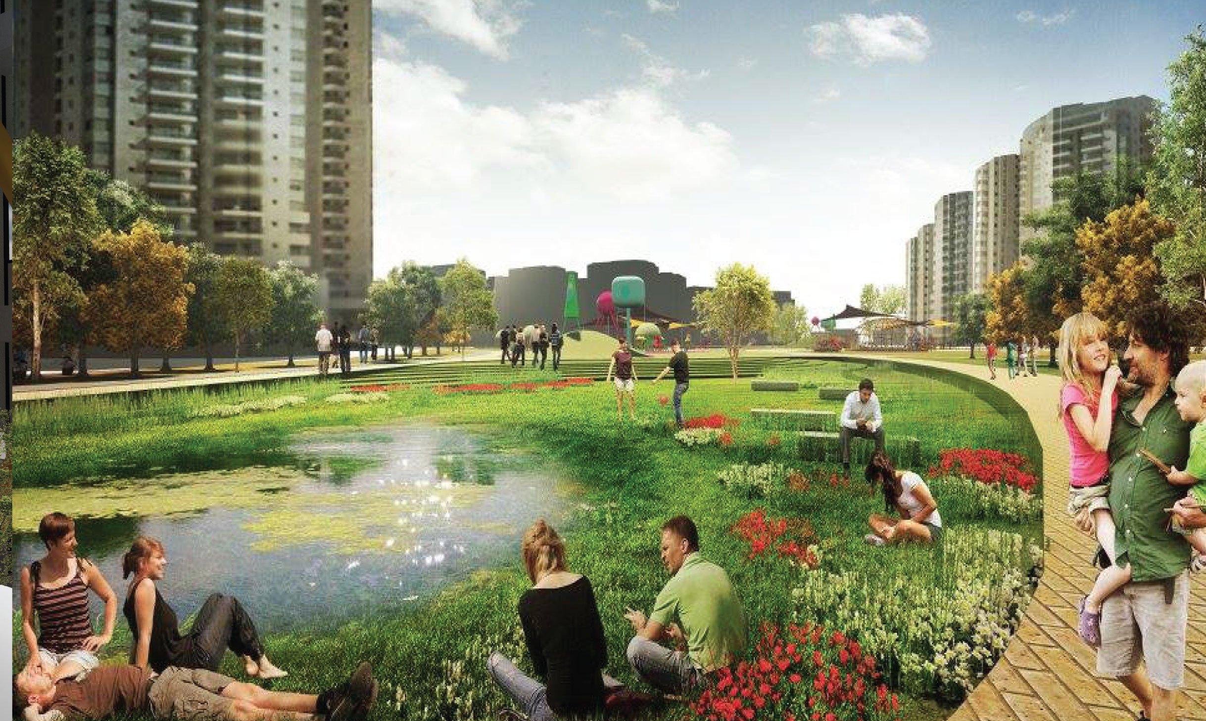 תכנון פארק בשכונת נווה גן, פתח תקווה